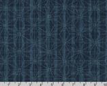 Sevenberry Nara Homespun - Geometric Stars Denium by Sevenberry from Robert Kaufman Fabric