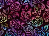 Artisan Batik Rosette - Rose Jewel by Lunn Studios from Robert Kaufman Fabrics