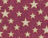 Stars Metallic Red from EE Schenck Fabric