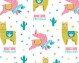 Very Punny - Llamas Multi from Camelot Fabrics