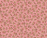 Burgundy and Blush - Vintage Calico Little Buds Pink from Maywood Studio Fabric