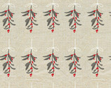 Holiday Road Trip - Mistletoe Beige from Studio E Fabrics