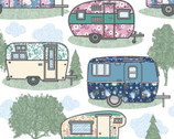 Comfy Flannel Prints - Travel Trailers Camping from A.E. Nathan Company