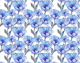 The Leah Collection - Small Magnolia Floral from In The Beginning Fabric
