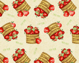 Farm Raised - Apple Basket by Gail Green from Henry Glass Fabric