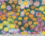 Claude Monet - Garden Mums from Robert Kaufman Fabric
