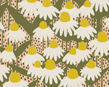 Perennial - Coneflower Sunshine by Sarah Golden from Andover Fabrics
