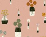 Perennial - Bouquet Desert Sand by Sarah Golden from Andover Fabrics