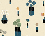 Perennial - Bouquet Ceramic by Sarah Golden from Andover Fabrics