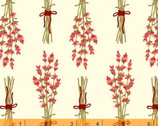 Homestead Life - Lottie's Bouquet Floral Cream by Judy Jarvi from Windham Fabrics