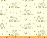 Homestead Life - Hey Ewe Sheep Cream by Judy Jarvi from Windham Fabrics