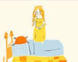 Heather Ross 20th Anniversary - Princess Cream from Windham Fabrics