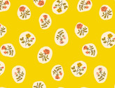 Heather Ross 20th Anniversary - Little Rose Yellow from Windham Fabrics
