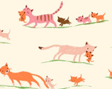Heather Ross 20th Anniversary - Morning Cats from Windham Fabrics