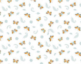 Autumn Impressions  - Butterfly  Blue from Camelot Fabrics