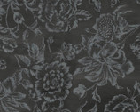 French  Couture Parisian Floral Charcoal from David Textiles Fabrics