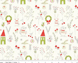 Merry Little Christmas  - Main Cream from Riley Blake Fabric