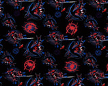 Marvel Spiderman Into The Spiderverse from Springs Creative Fabric