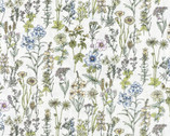 Memoire A Paris - Wildflower Floral Pearl from Lecien Fabric