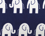 Cuddle Premier - Elefante CUDDLE Navy Snow from Shannon Fabrics