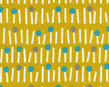 Onnela - Matchstick Tree Mustard Yellow OXFORD from Elite Fabric