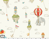 City Hoppers - Island In The Sky Cream from Michael Miller Fabric