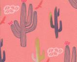 Desert Song - Desert Cactus Pink Sunrise by Mara Penny from Moda Fabrics