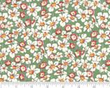 Bubble Pop - Flowers Green by Sandy Klop of American Jane from Moda Fabrics