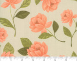 Goldenrod - Raleigh Floral Bisque Natural by One Canoe Two from Moda Fabrics