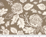 Harvest Road - Rose Floral Chestnut by Lella Bouquet from Moda Fabrics
