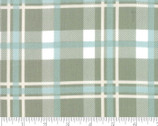 Harvest Road - Plaid Print Sage Light Green by Lella Bouquet from Moda Fabrics