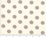 Harvest Road - Circle Dots Eggshell Natural by Lella Bouquet from Moda Fabrics