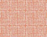 Birdseed Coral LAWN from Monaluna Fabrics