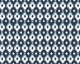 Aztec Diamond POPLIN from Monaluna Fabrics