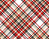 Timber Gnomies - Bias Plaid by Shelly Comiskey from Henry Glass Fabric