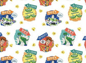 Disney Toy Story - Character Badges from Springs Creative Fabric
