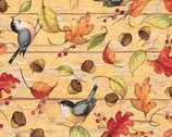 Harvest - Fall Acorns Birds from Springs Creative Fabric