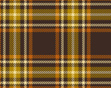 Harvest Basics Plaid Print Brown from Springs Creative Fabric