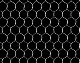 Buttermilk Farmstead - Chicken Wire Black by Grace Popp from Studio E Fabrics