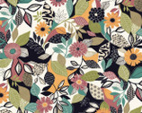 Farah Flowers - Floral by Crystal Designs from P & B Textiles Fabric