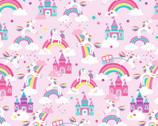 Unicorn Magic Pearlescent - Unicorn Dreams Lilac Pink from Kanvas Studio Fabric