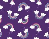 Unicorn Magic Pearlescent - Magical Rainbow Purple from Kanvas Studio Fabric