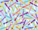 Good Vibrations - Pickup Sticks Blue from Maywood Studio Fabric