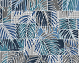 Turtle Bay - Transparent Palms Blue Grey from Maywood Studio Fabric