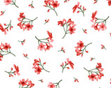 Prose - Little Flowers White from Maywood Studio Fabric