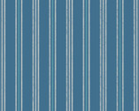 Thalassophile - Stripe Blue from Lewis and Irene Fabric