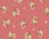 Sensibility - Tiny Bouquets Pink from Maywood Studio Fabric