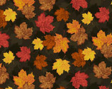 Autumn Is Calling - Fall Leaves Multi from Timeless Treasures Fabric