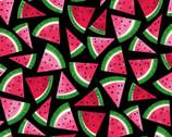 Watermelon Park - Watermelon Black from Timeless Treasures Fabric