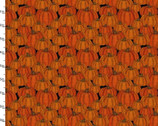 Harvest Campers - Pumpkins Orange from 3 Wishes Fabric